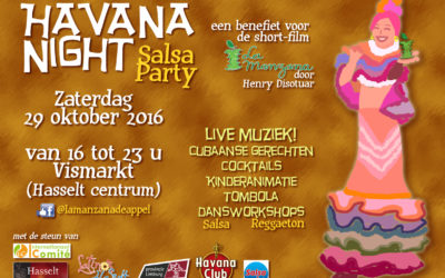 Second benefit party for La Manzana!!